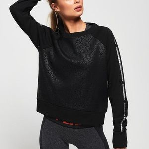 Superdry Core Gym Tech Taped Crew Sweatshirt XS